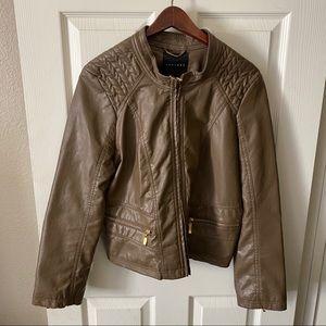 2/$20 sale🌼 Faux leather moto style jacket